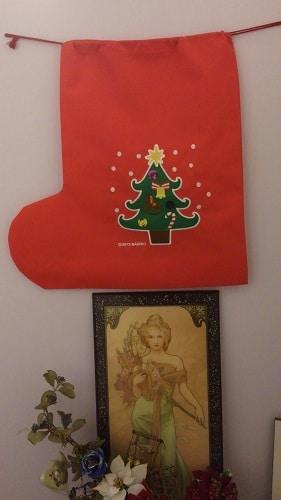 クリスマスブーツ836