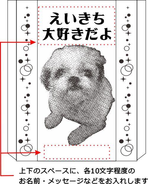 ☆ペット写真彫刻 クリスタルオブジェ【ブラックストライプ】☆