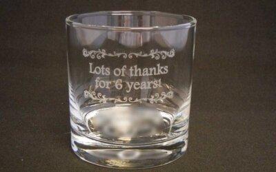 ☆【記念ロックグラス】特別な名入れの贈り物♪☆